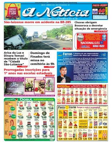 0150d1f10 Edição de 1º e 2 de novembro de 2014 by Jornal A Notícia - issuu