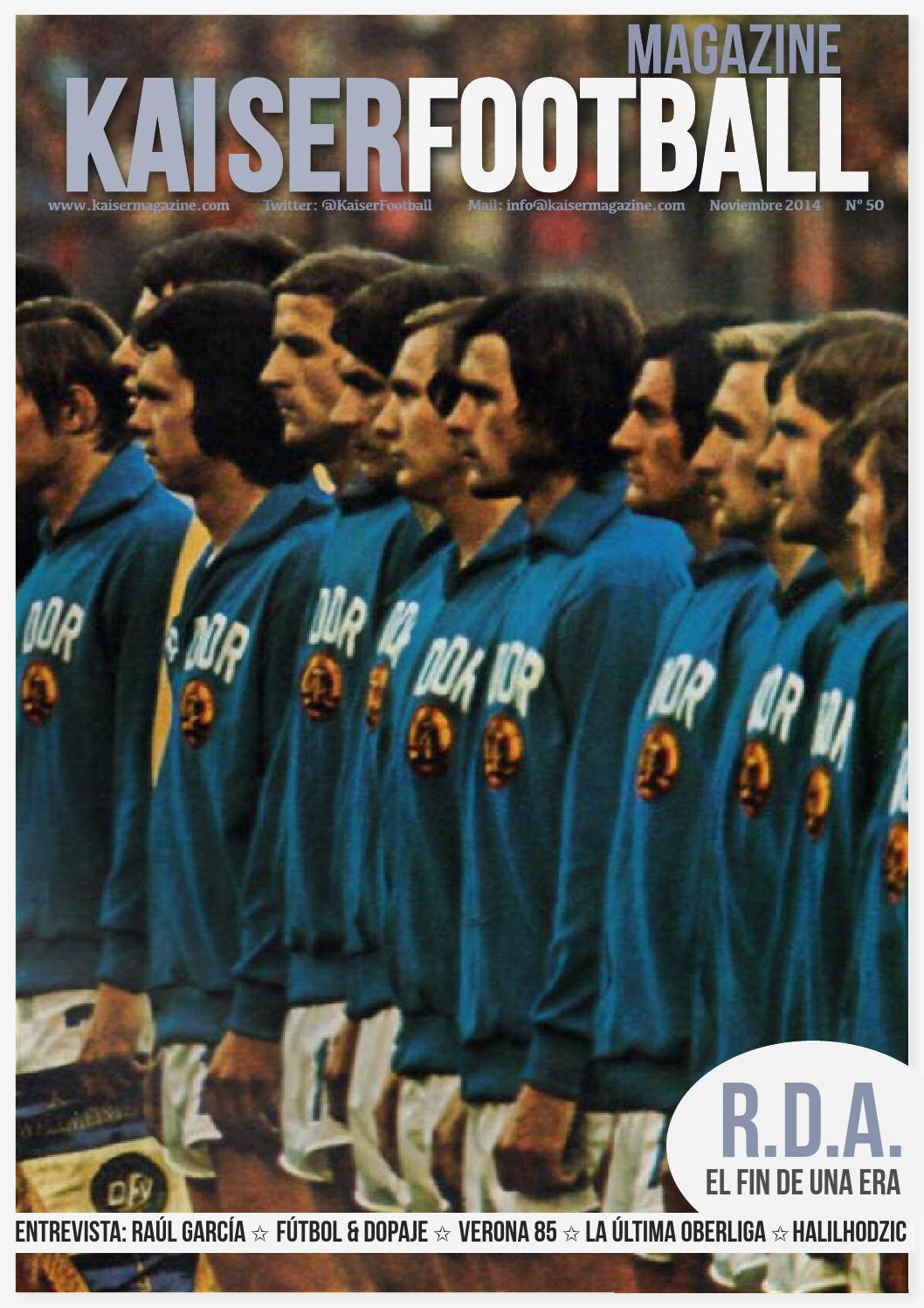 Revista Kaiser 50 | Noviembre 2014 by Kaiser Football - issuu