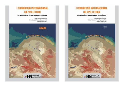 e93852f60eb Anais do I Congresso Internacional do PPG-Letras by HN Editora ...