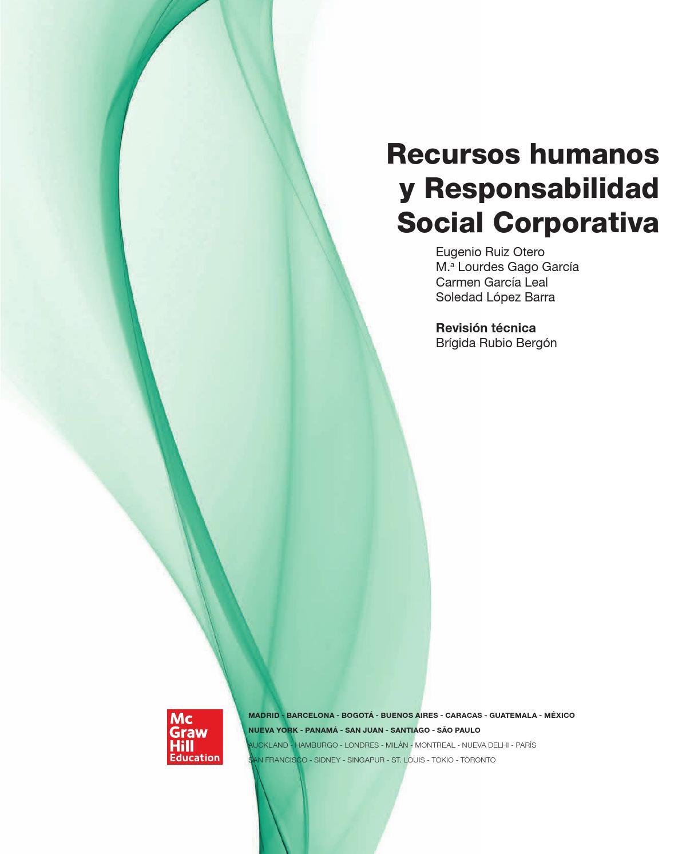 Recursos humanos y responsabilidad social corporativa ruiz, gago ...