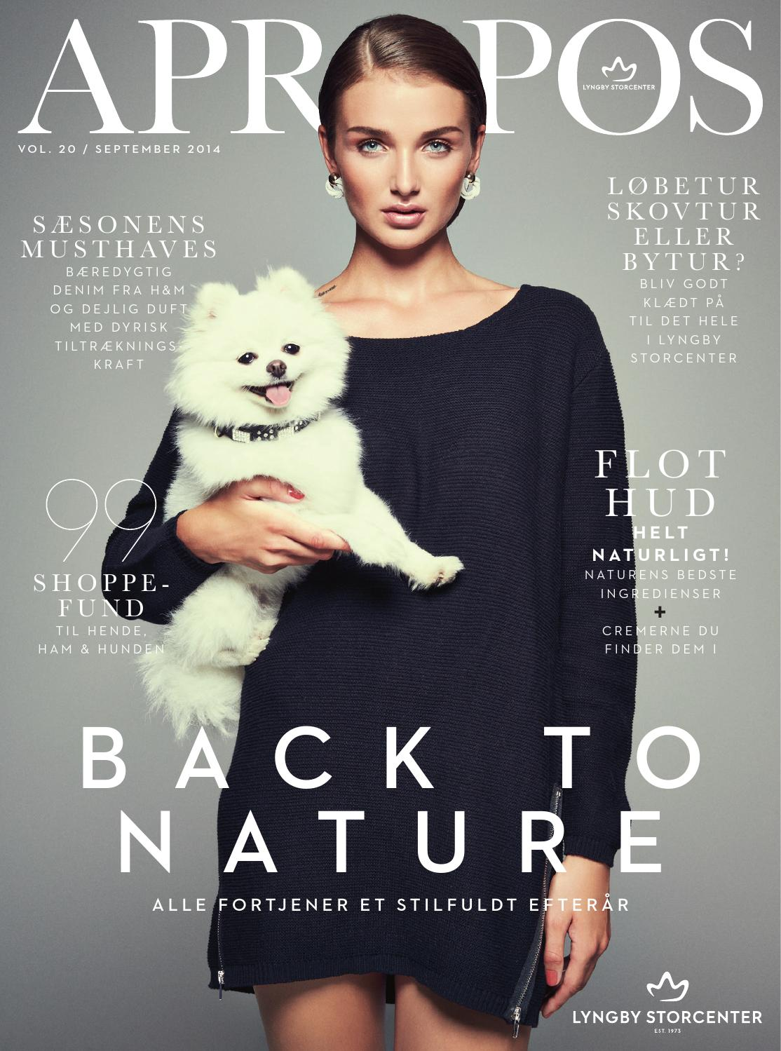 ad6a1f1f APROPOS - BACK TO NATURE by Lyngby Storcenter - issuu