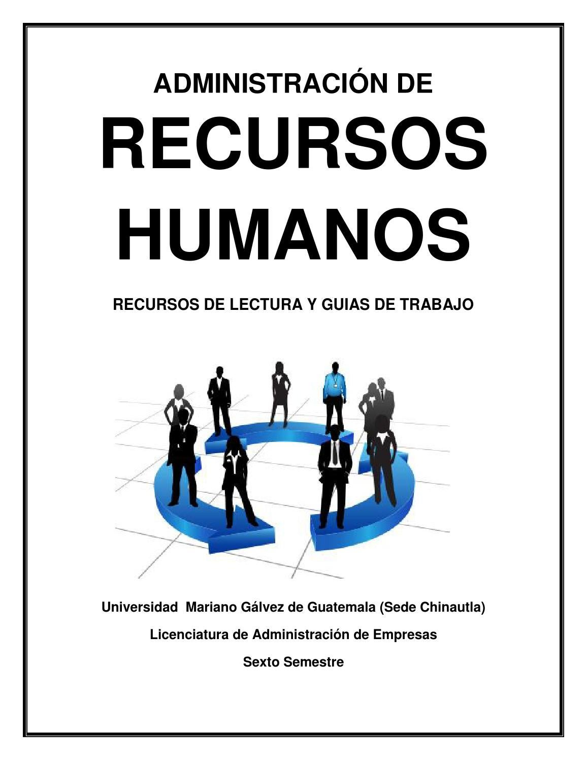 Administracion de recursos humanos by デンイス ロペス - issuu