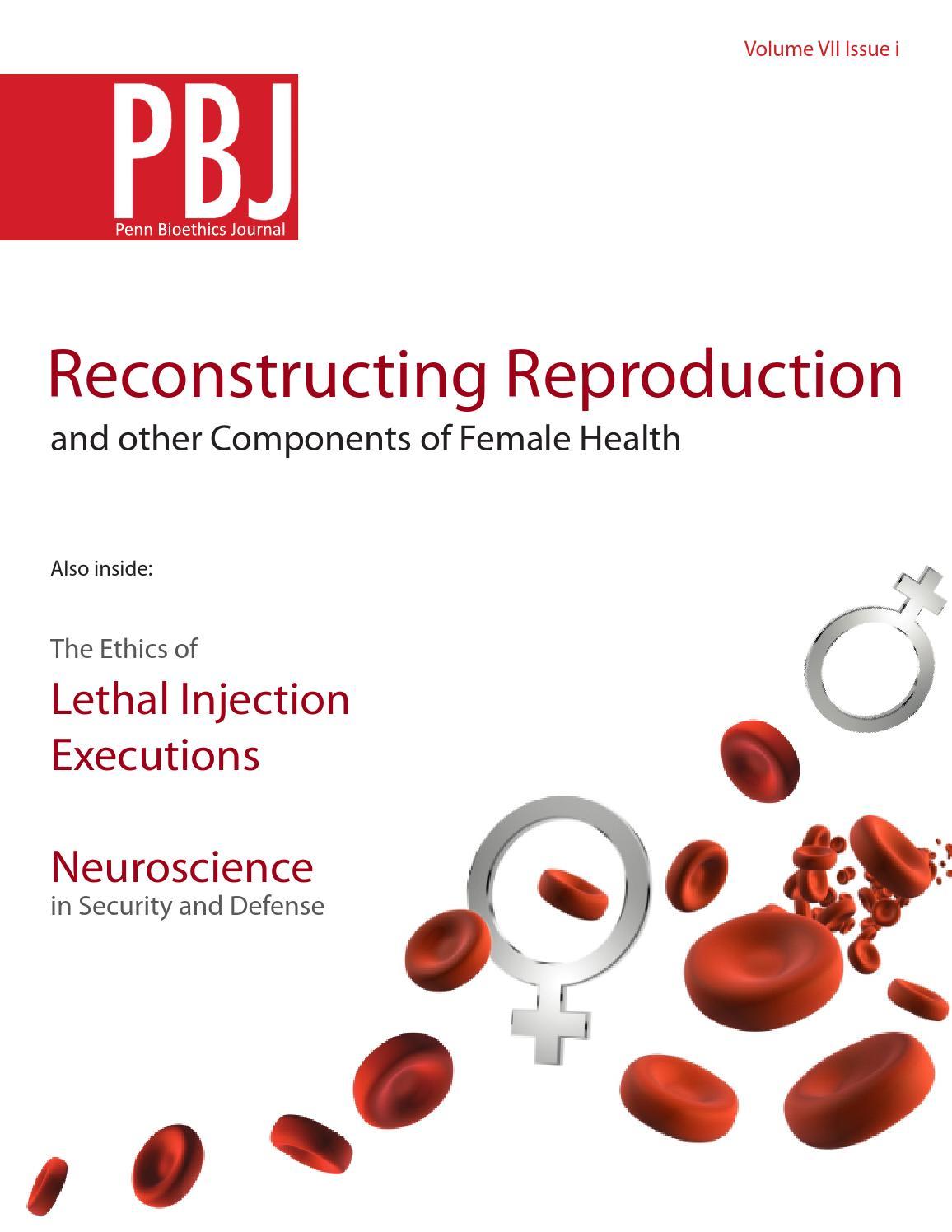 Volume Vii Issue I By Penn Bioethics Journal Issuu