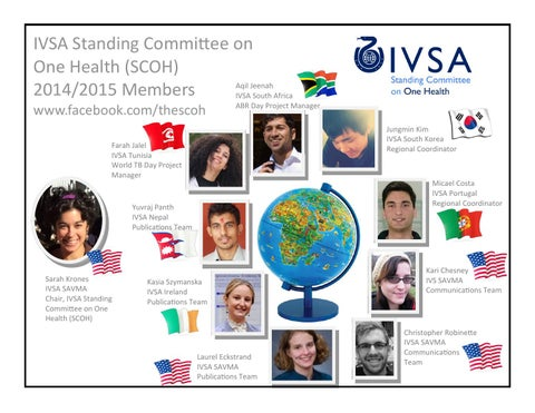 IVSA Standing Committee on One Health (SCOH) - issuu
