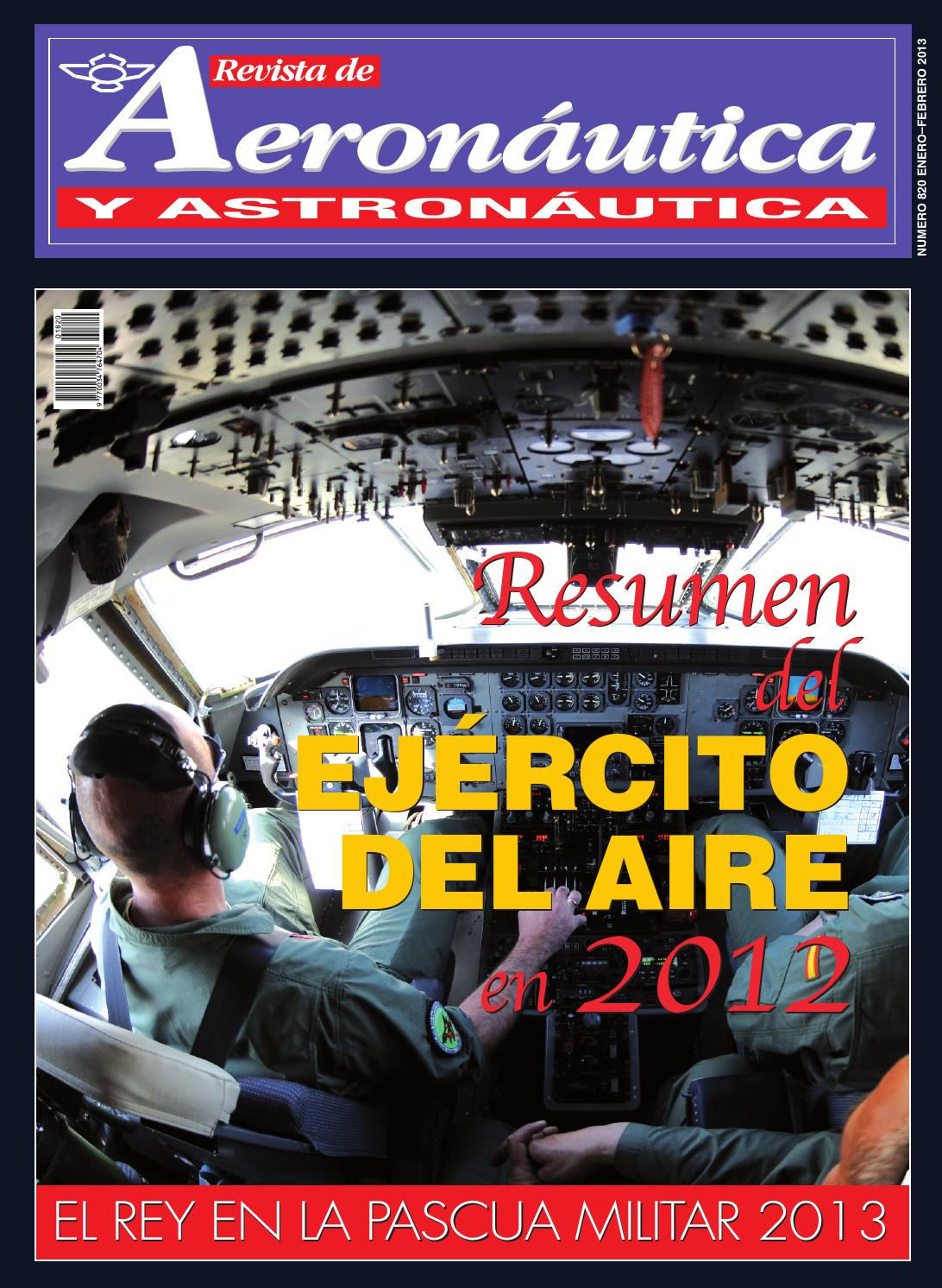 Revista Aeronàutica y Astronàutica / EL REY EN LA PASCUA MILITAR ...