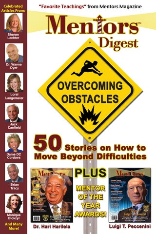 Mentors Digest Overcoming Obstacles By Tulia Lopes Issuu