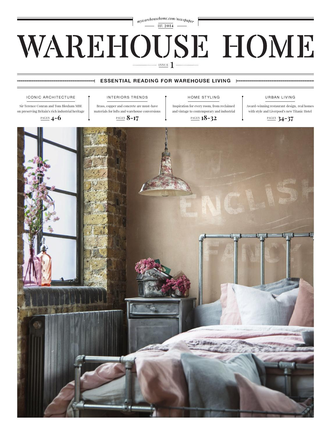 Warehouse home launch issue by warehouse home issuu