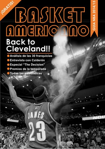 Guia NBA 2014-15 BasketAmericano by Enrique Garcia - issuu 520a9cd9d97