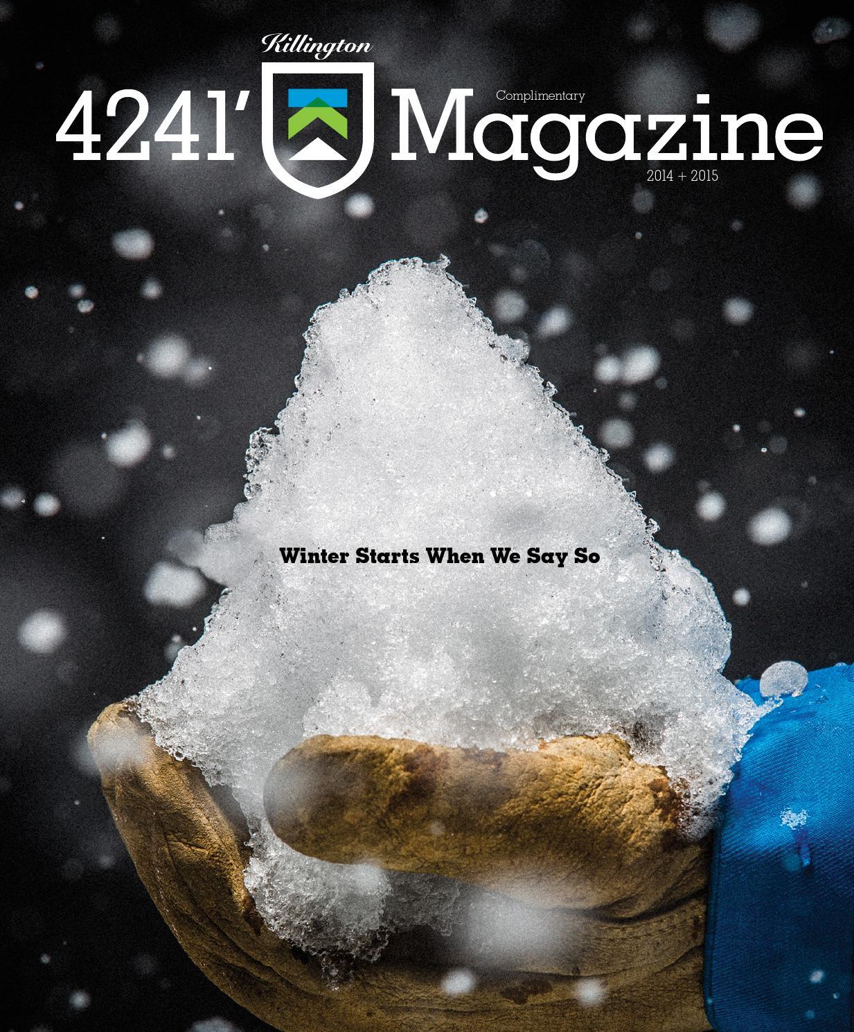 4241  Killington Magazine by Killington Resort - issuu db834b81a50