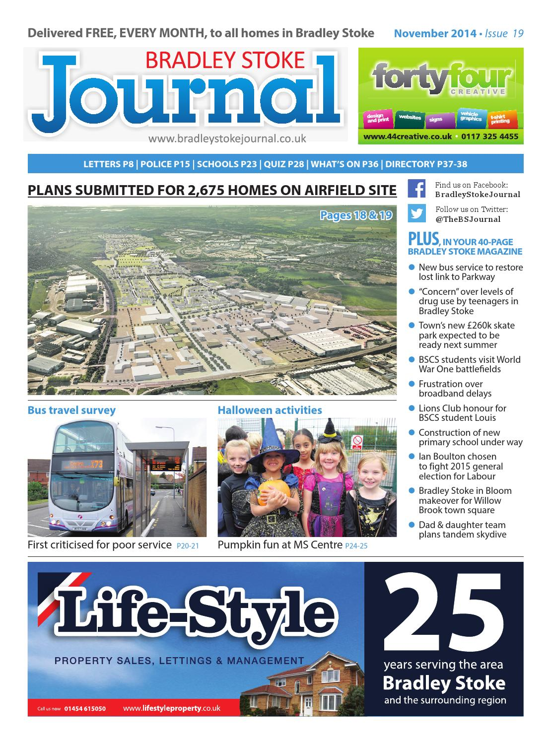 November 2014 By Bradley Stoke Journal Issuu How To Wire 2 Separate Single Pole Switches Lightssw