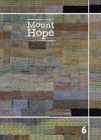 Mount Hope Issue 6 Fall 2014 by Mount Hope Magazine - issuu