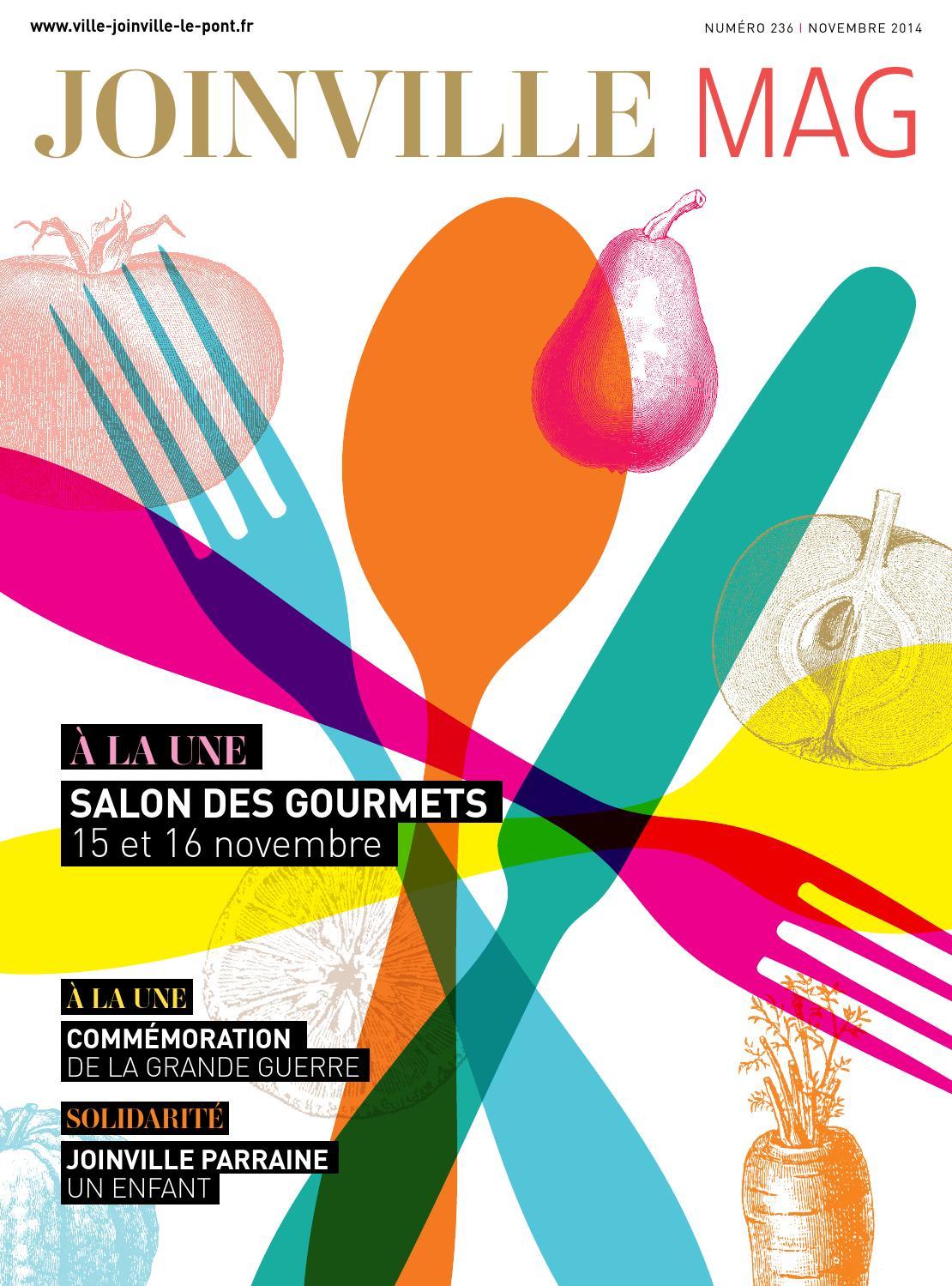 Joinville le pont magazine n 236 novembre2014 by mairie de - Salon des gourmets joinville le pont ...