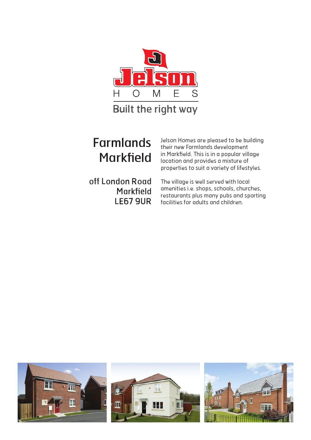 Jelson Homes New Properties