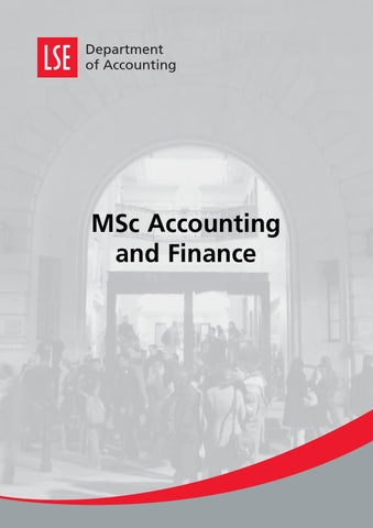 lse msc accounting