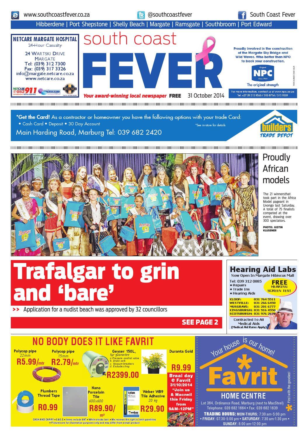 0ce9df7e5e South coast fever 31 oct 2014 by South Coast Fever - issuu