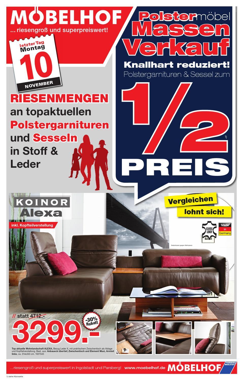 prospekt moebelhof f r den 05 bis by perspektive werbeagentur issuu. Black Bedroom Furniture Sets. Home Design Ideas