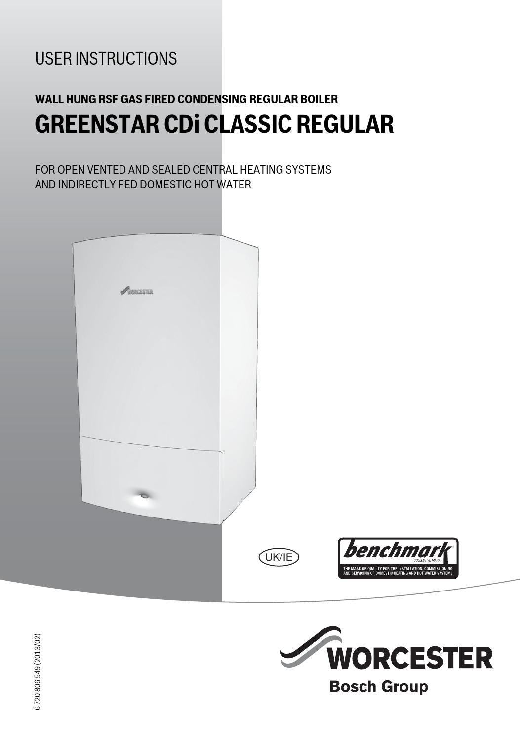 Worcester Boiler Fault Codes >> Worcester greenstar cdi classic regular user manual by Sophie Leigh - Issuu
