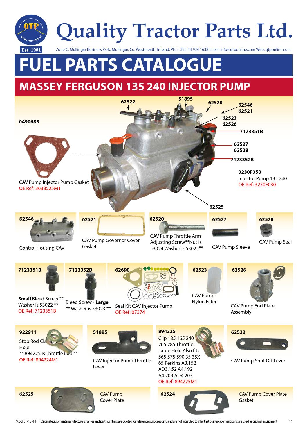 5 fuel by Quality Tractor Parts - issuu