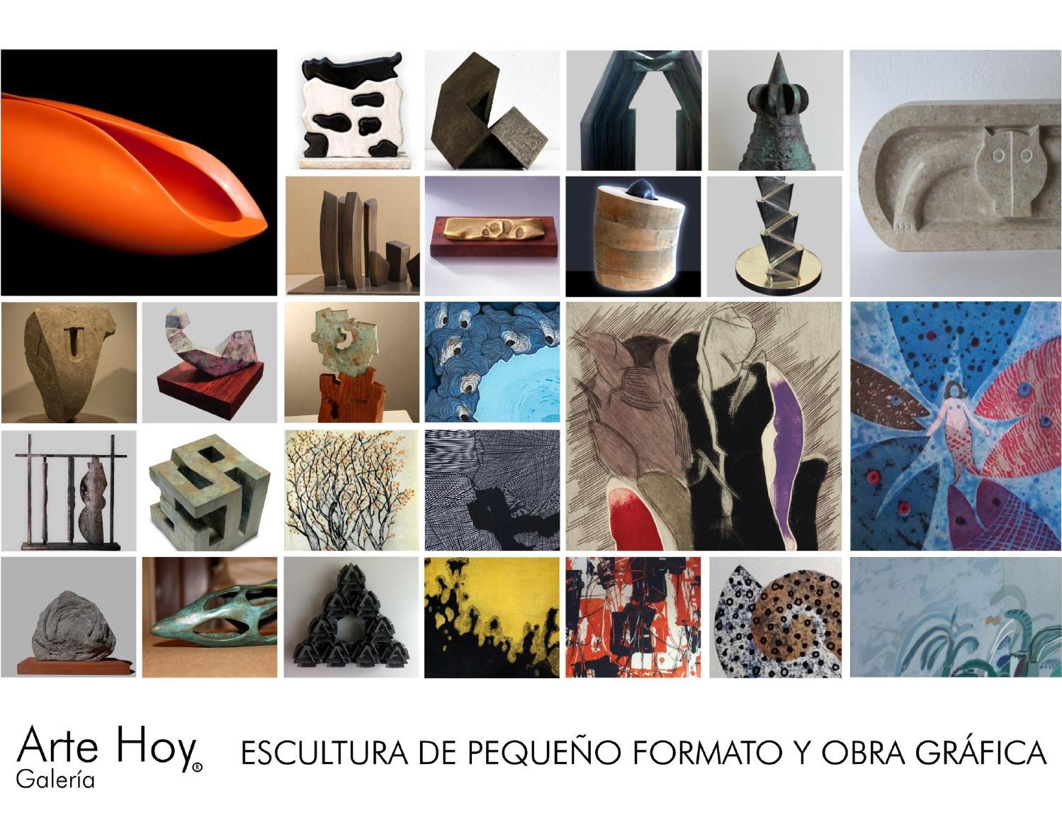 Catálogo Arte Hoy - Escultura Pequeño Formato 2012 by Arte Hoy - issuu