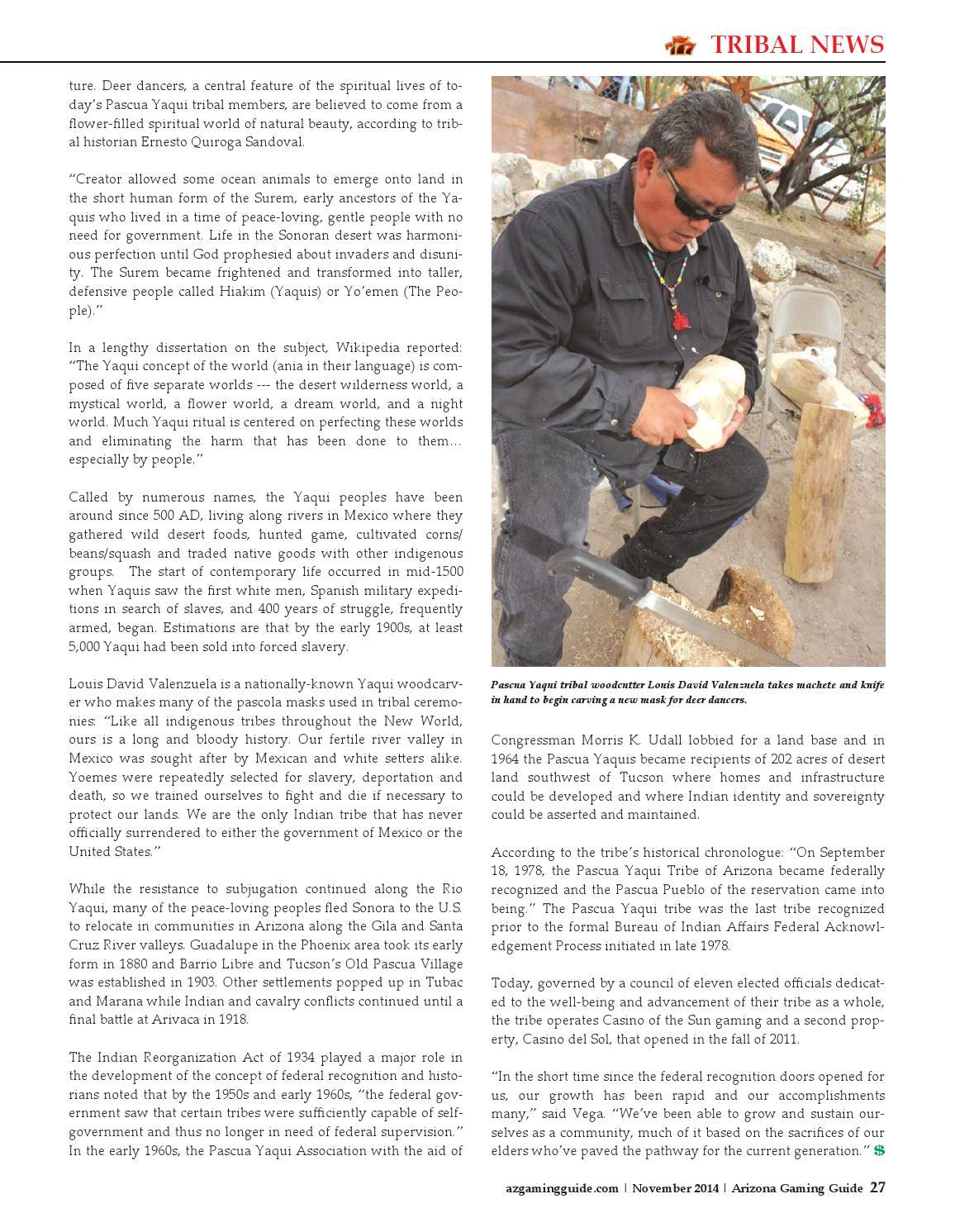 Arizona Gaming Guide Magazine - November 2014 - 06:11