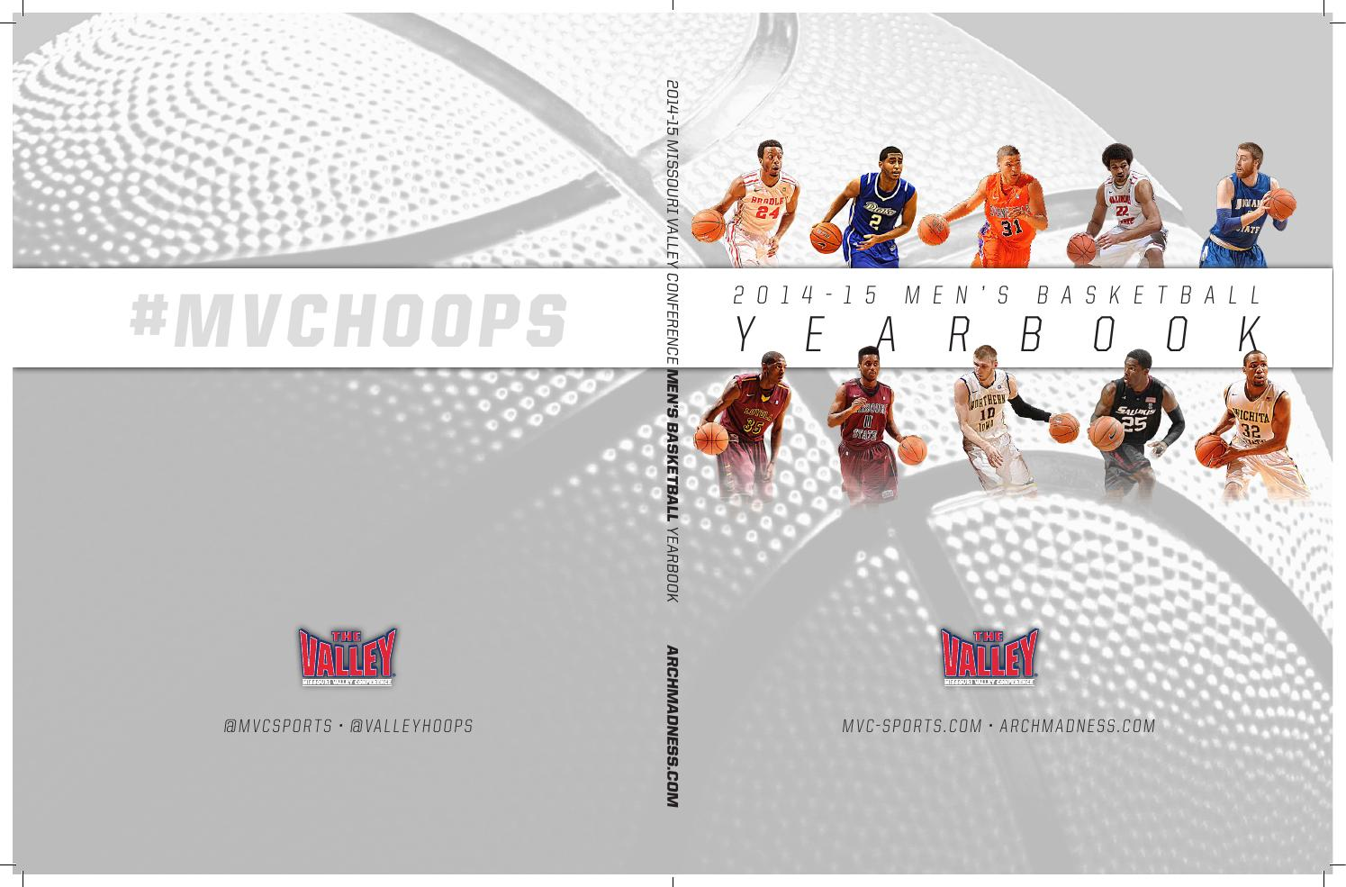 2014-15 MVC Men s Basketball Media Guide by Missouri Valley Conference -  issuu 8d83509b3bba0