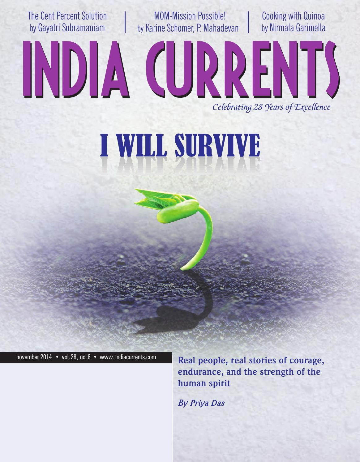 November 2014 by India Currents - issuu