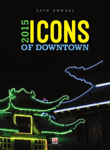 2015 Icons of Downtown by Los Angeles Downtown News - issuu