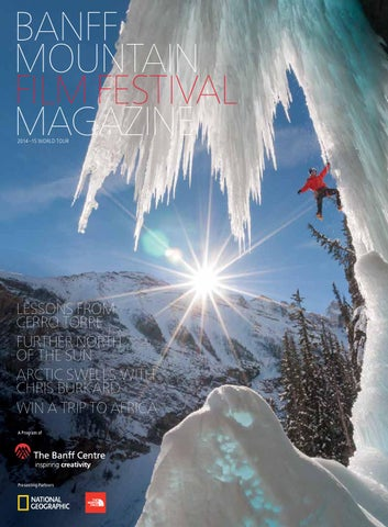 Banff Mountain Film and Book Festival Program 2016 by Banff Centre ... 209ba0b5c