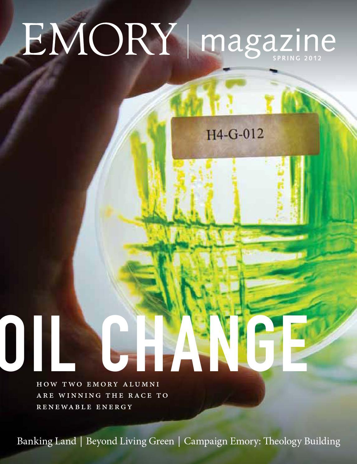 Emory Magazine / Spring 2012 by Emory University - issuu