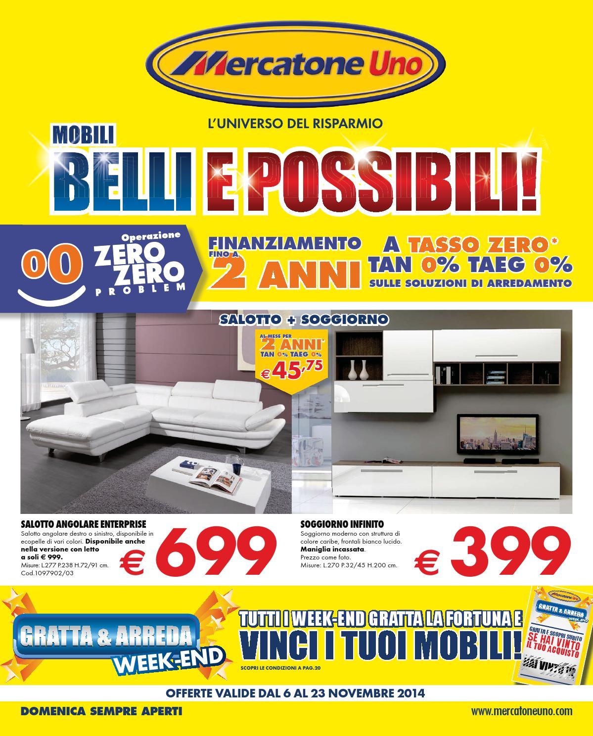 mercatoneuno 23nov by volavolantino - issuu - Tavoli Da Cucina Mercatone Uno