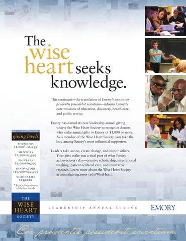 Emory Magazine / Winter 2013 by Emory University - issuu