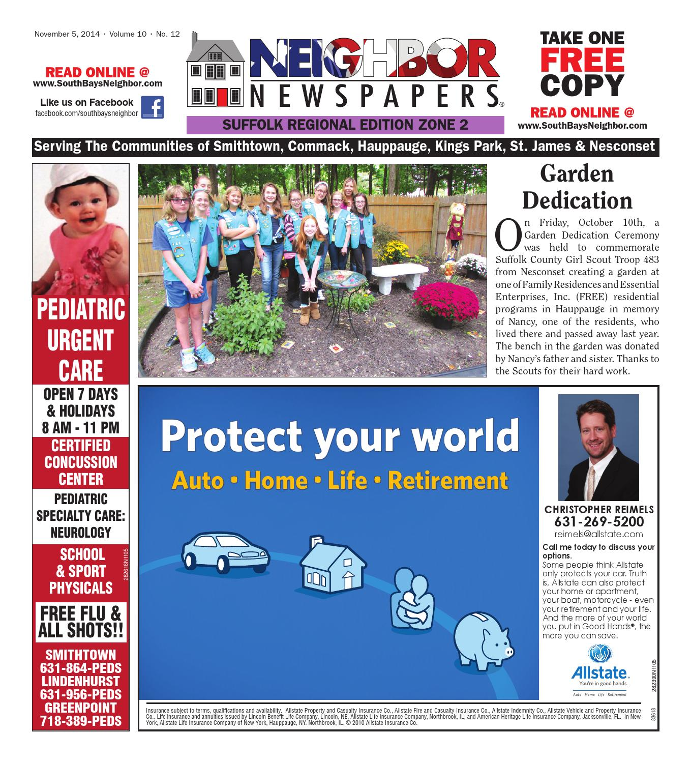 November 5 2014 Suffolk Zone 2 By South Bay S Neighbor Newspapers Issuu
