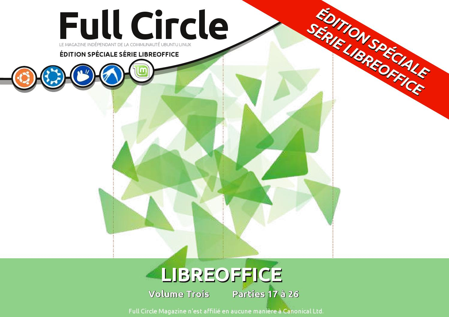 Full Circle Numéro Spécial Libreoffice Vol 3 By Genea