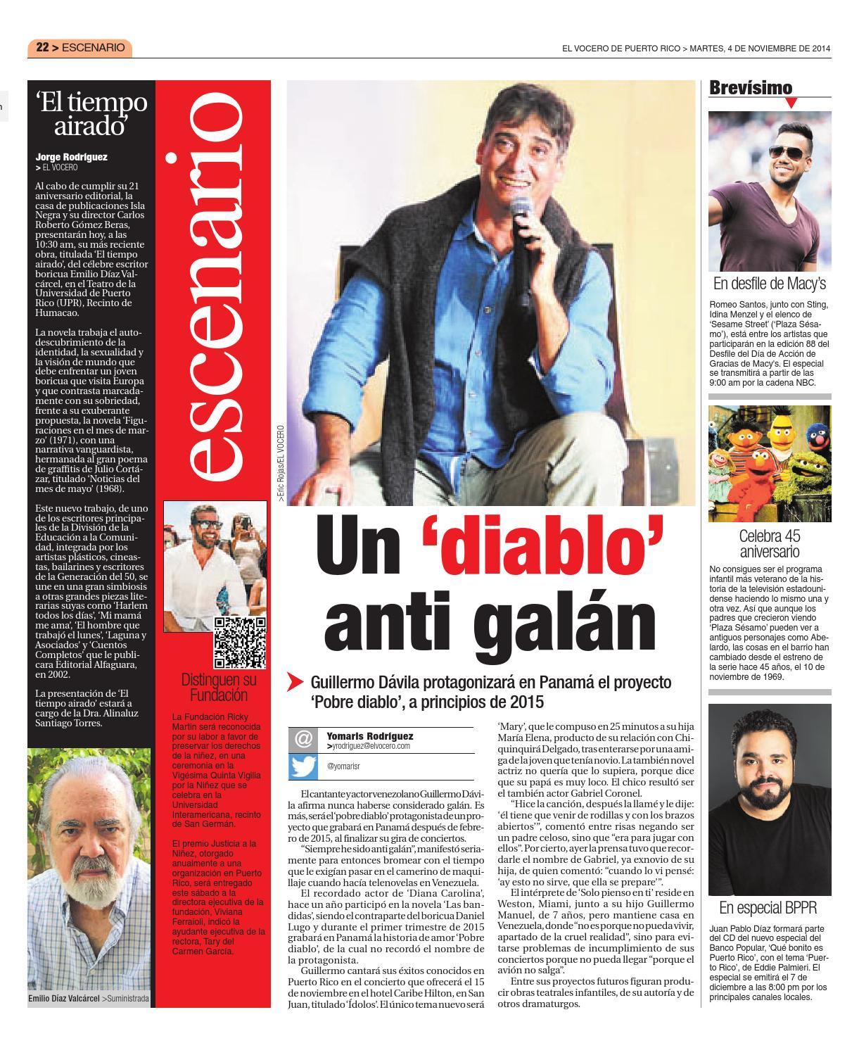 Edición 4 de Noviembre 2014 by El Vocero de Puerto Rico - issuu