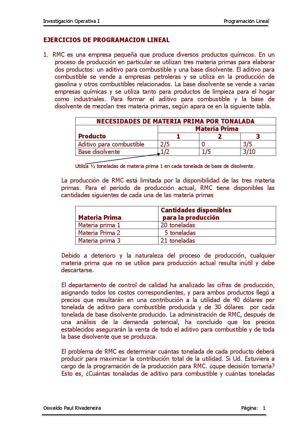 C) problemas de programacion lineal resueltos by Nicolas Zevallos Ramos -  issuu aae4f9bdf695d