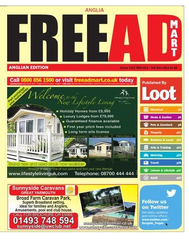 Free Ad Mart East Anglia 18th March 2014 By Loot