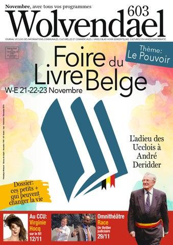 Wolvendael Magazine N 603 Novembre 2014 By Centre Culturel Duccle