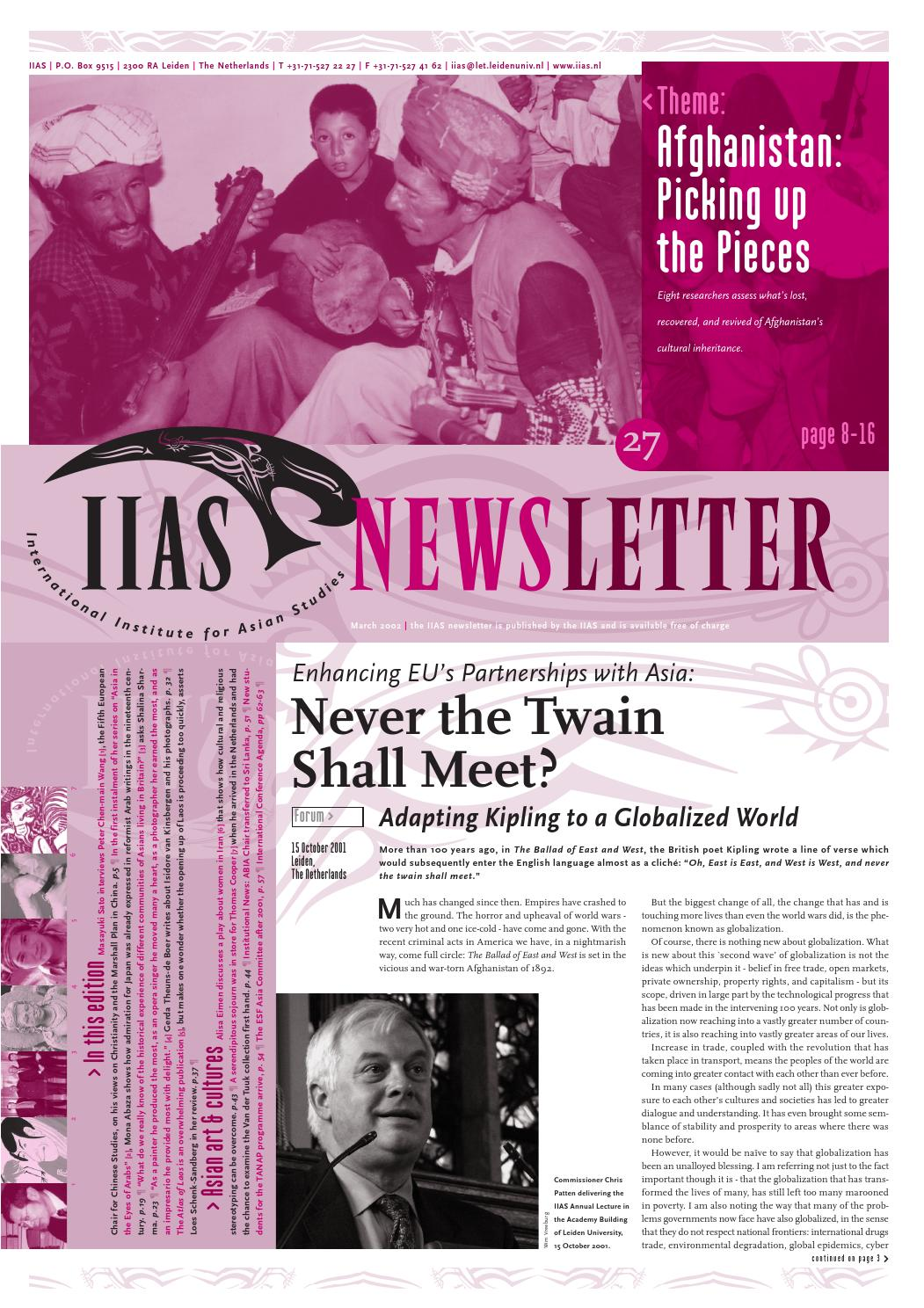 Iias Newsletter 27 By International Institute For Asian Studies Issuu Moeszaffir Gauri Folded Clutch Bag Blue Silver Ampamp Black