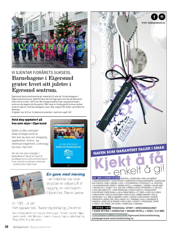 dc1a5346 Julemagasinet for Egersund by DesignStrek - issuu