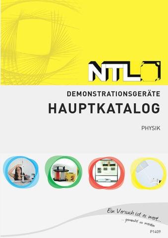 NTL Demonstrationsgeräte Hauptkatalog 2014 by Fruhmann GmbH NTL ...