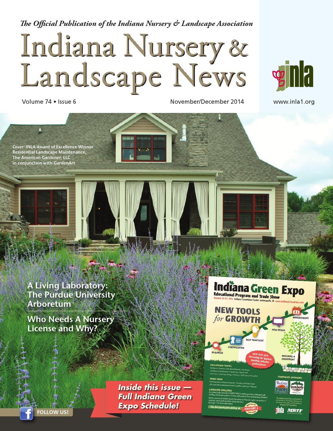 Indiana Nursery Landscape News Nov Dec 2017 Issue By