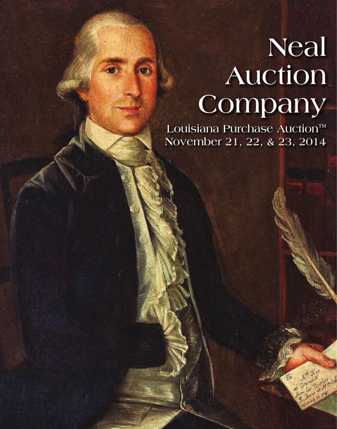 Verand Art Chartres Liquidation november 21-23 louisiana purchase auction catalogueneal