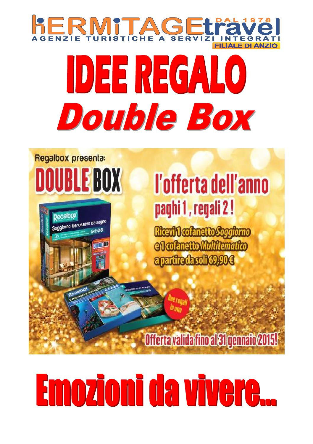 idee regalo regalbox 2015/2016 by italy tour - issuu - Soggiorno Originale Regalbox