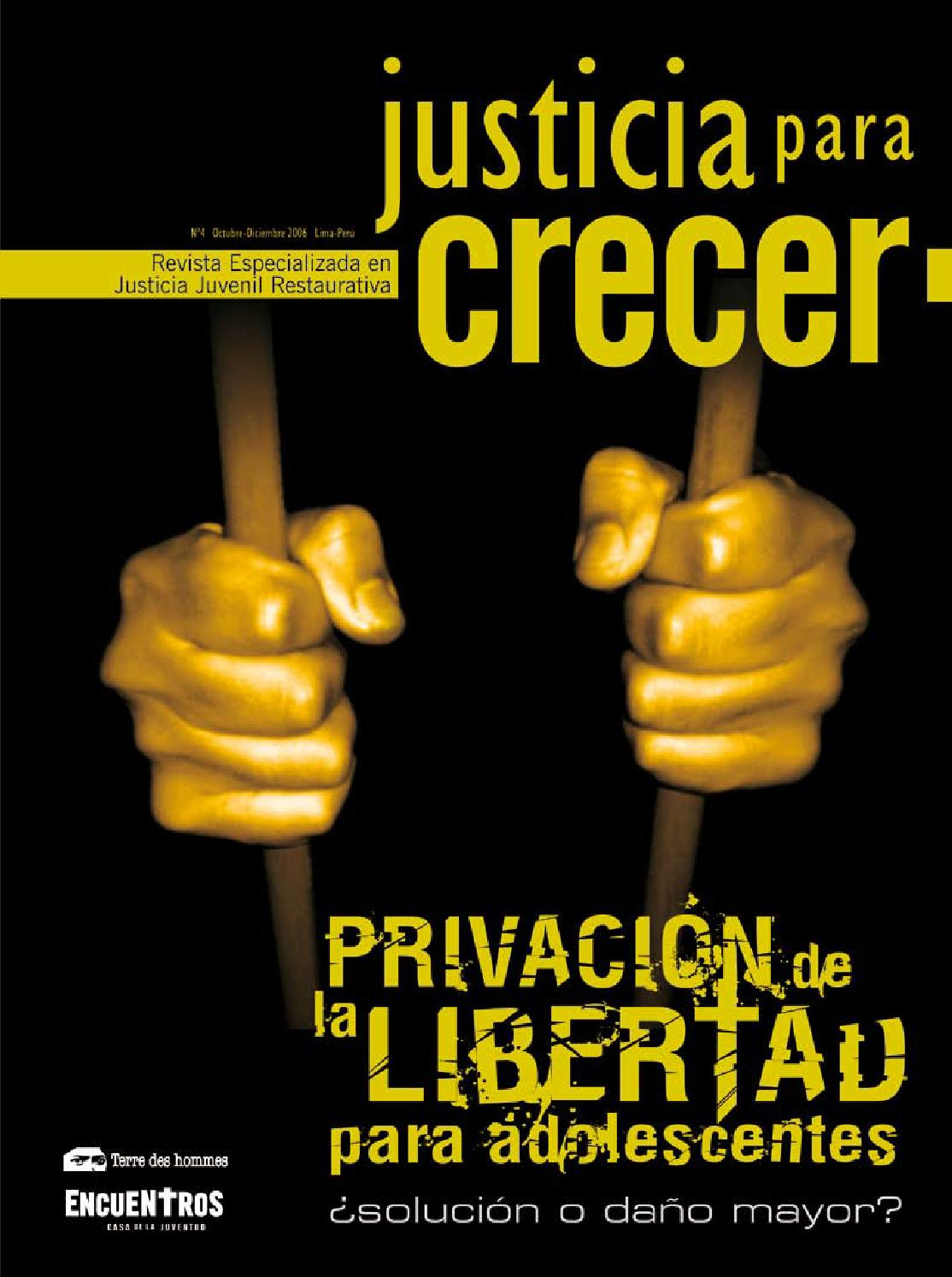 Justicia para Crecer N° 4 by Terre des hommes (Perú) - issuu