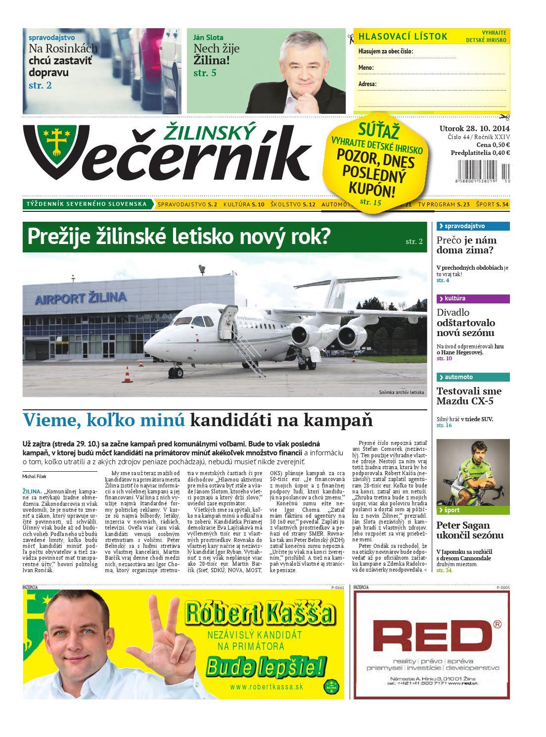 ae2ccab560187 Žilinský Večerník by Julo Kozak - issuu