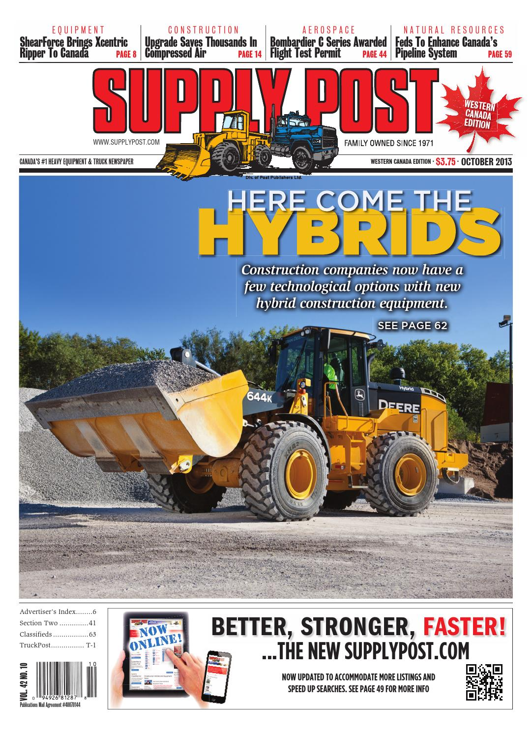 Supply Post West Oct 2013 By Newspaper Issuu Hyundai 210lc 7 Wiring Diagram