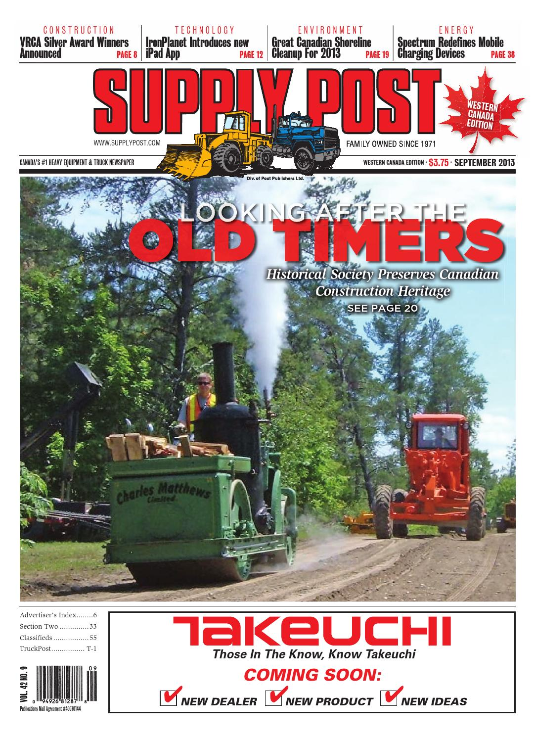 Supply Post West Sept 2013 By Newspaper Issuu Komatsu D41p Wiring Diagrams