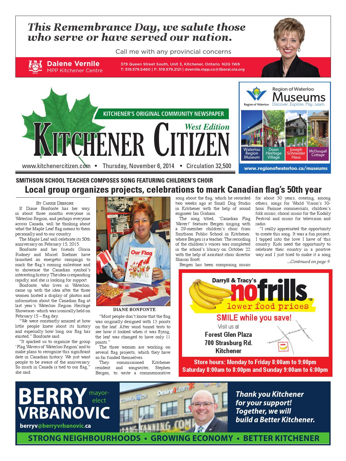 Kitchener Citizen - West Edition - November 2014 by Kitchener ...
