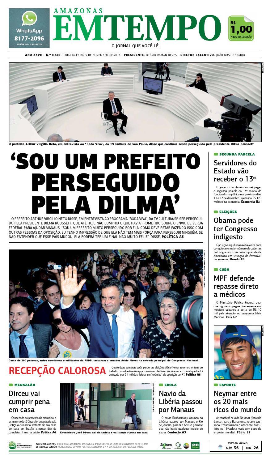 9c226adf0d7dc EM TEMPO - 5 de novembro de 2014 by Amazonas Em Tempo - issuu