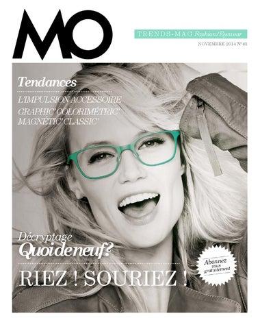 2c5b6f85a0 T ren d s - M a g Fashion/Eyewear NOVEMBRE 2014 N°41